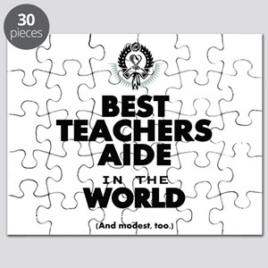 The Best in the World Teachers Aide Puzzle