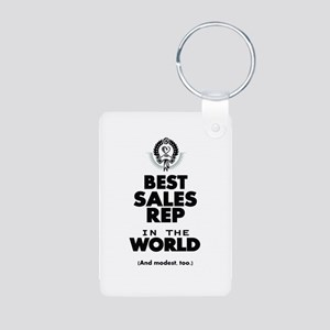 The Best in the World Sales Rep Keychains