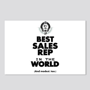 The Best in the World Sales Rep Postcards (Package