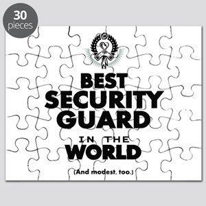 The Best in the World Security Guard Puzzle