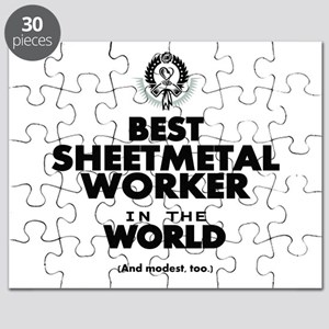 The Best in the World Sheetmetal Worker Puzzle