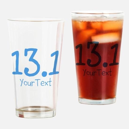 Customize BLUE 13.1 Drinking Glass