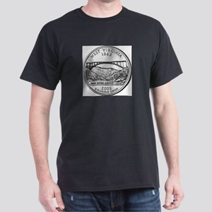 2005 West Virginia State Quar Ash Grey T-Shirt
