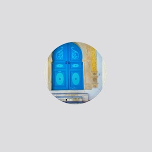 Blue door Mini Button