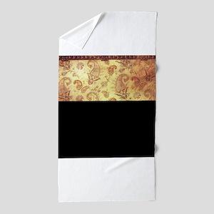 Vintage texture Beach Towel