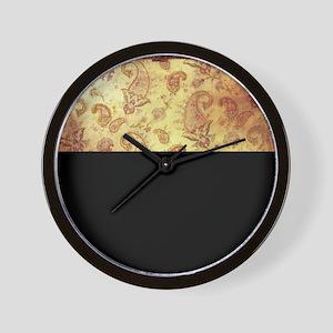 Vintage texture Wall Clock