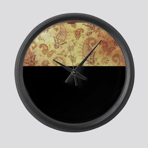Vintage texture Large Wall Clock