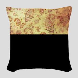 Vintage texture Woven Throw Pillow