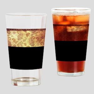 Vintage texture Drinking Glass