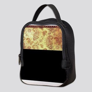 Vintage texture Neoprene Lunch Bag