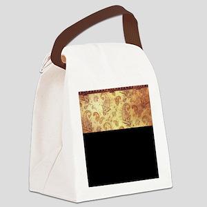 Vintage texture Canvas Lunch Bag