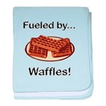 Fueled by Waffles baby blanket