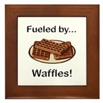 Fueled by Waffles Framed Tile