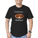Fueled by Waffles Men's Fitted T-Shirt (dark)