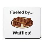 Fueled by Waffles Mousepad