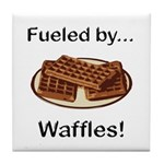 Fueled by Waffles Tile Coaster