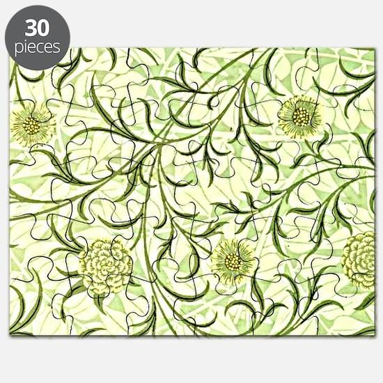 William Morris design: Scroll and Flower Puzzle