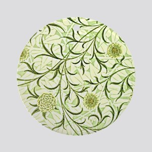 William Morris design: Scroll and F Round Ornament
