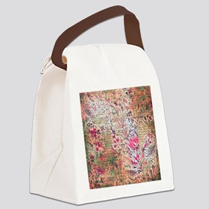 Old paper texture Canvas Lunch Bag