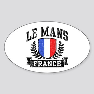 Le Mans France Sticker (Oval)