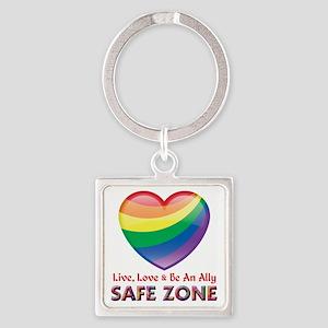 Safe Zone - Ally Keychains