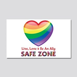 Safe Zone - Ally Car Magnet 20 x 12