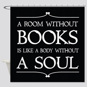 Book Quote Gift Shower Curtain