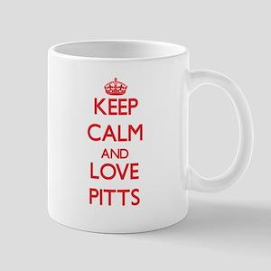 Keep calm and love Pitts Mugs