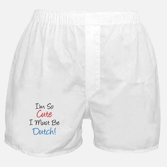 So Cute Dutch Boxer Shorts
