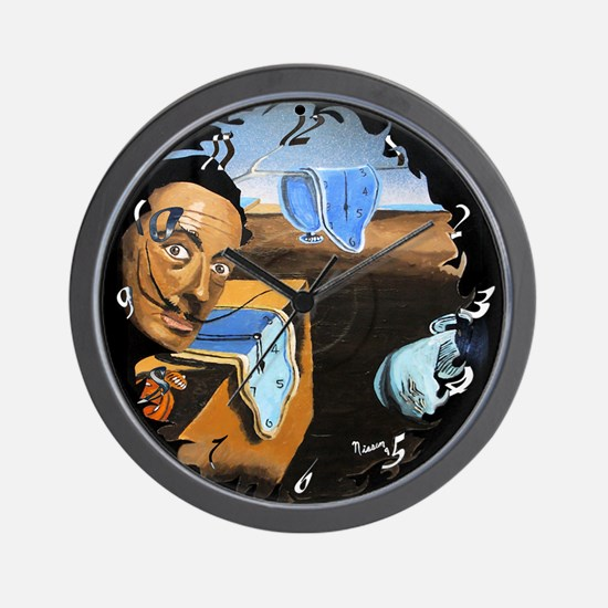 Dali! On Vinyl Wall Clock