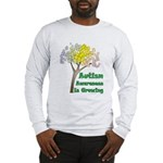 Aspies of the world UNITE! Long Sleeve T-Shirt