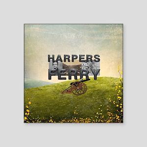 "Harper's Ferry Americasbest Square Sticker 3"" x 3"""