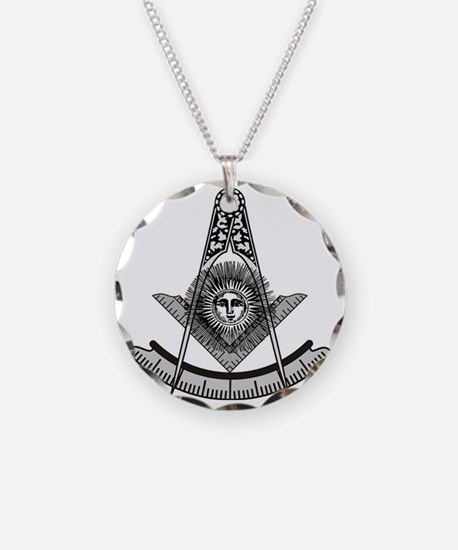 Masonic Past Master Emblem Necklace