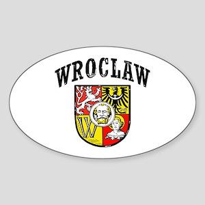Wroclaw Sticker (Oval)