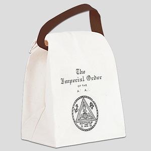Rosicrucian Imperial Order Emblem Canvas Lunch Bag
