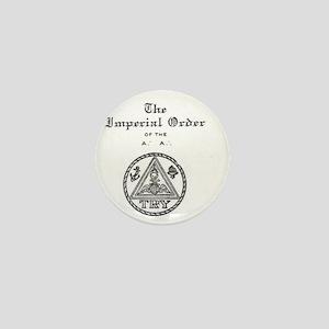 Rosicrucian Imperial Order Emblem Mini Button