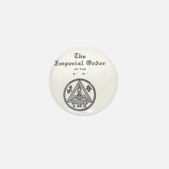 Rosicrucian Imperial Order Emblem Mini Button