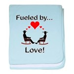 Fueled by Love baby blanket