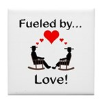 Fueled by Love Tile Coaster