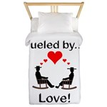 Fueled by Love Twin Duvet