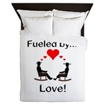 Fueled by Love Queen Duvet