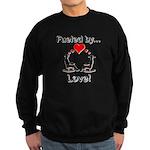Fueled by Love Sweatshirt (dark)