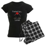 Fueled by Love Women's Dark Pajamas