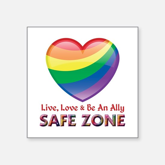 Safe Zone - Ally Sticker