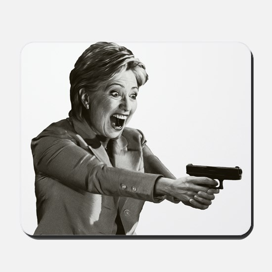 Hillary Shooting Mousepad
