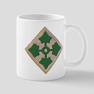 Fourth Infantry Div. Mug