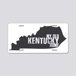 My Old Kentucky Home Aluminum License Plate