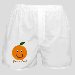 Peach Boxer Shorts