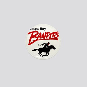 Tampa Bay Bandits Retro Logo Mini Button