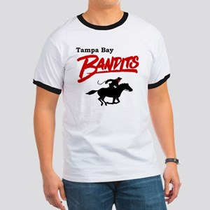 Tampa Bay Bandits Retro Logo Ringer T